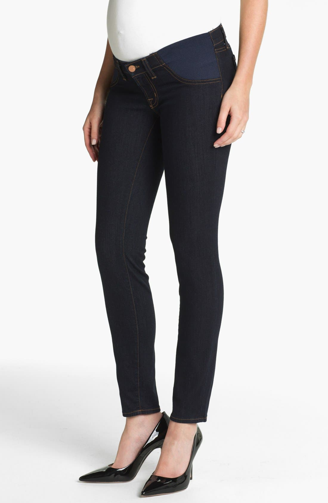 Alternate Image 1 Selected - J Brand Denim Maternity Leggings (Starless)