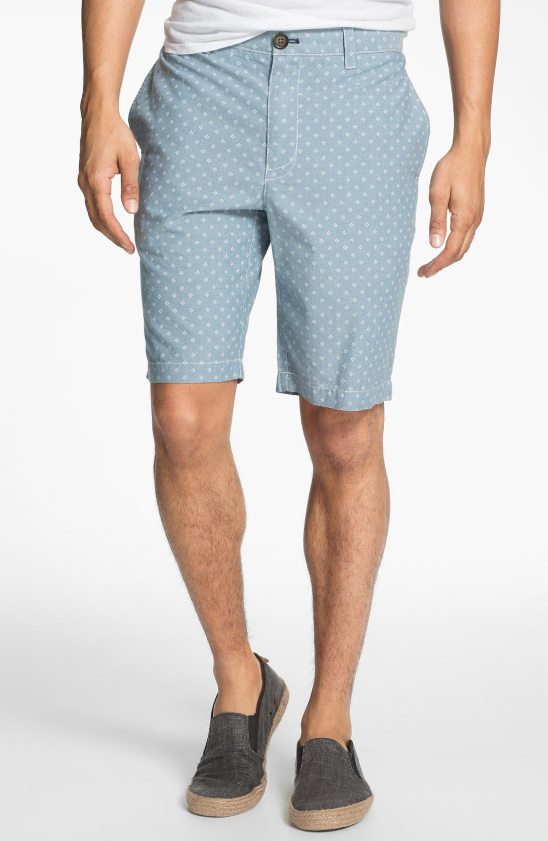 Main Image - Original Penguin Floral Print Oxford Shorts