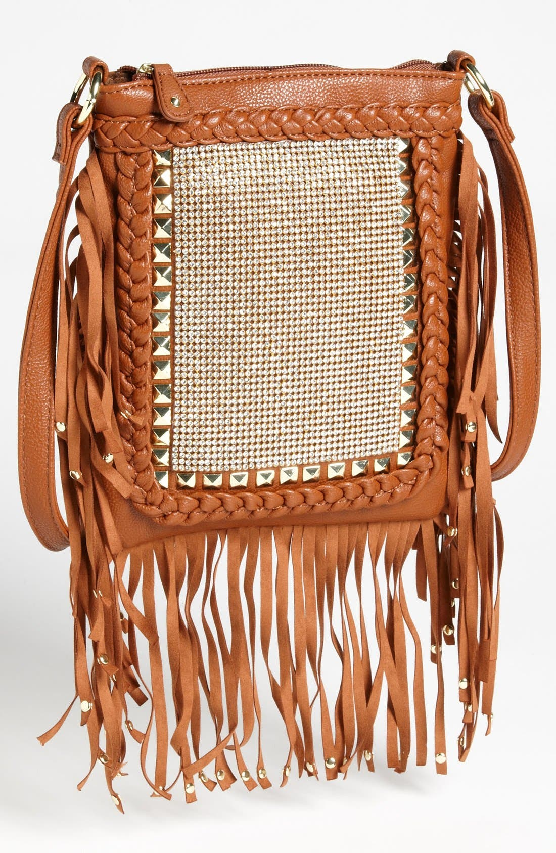 Alternate Image 1 Selected - Steve Madden Fringe Crossbody Bag