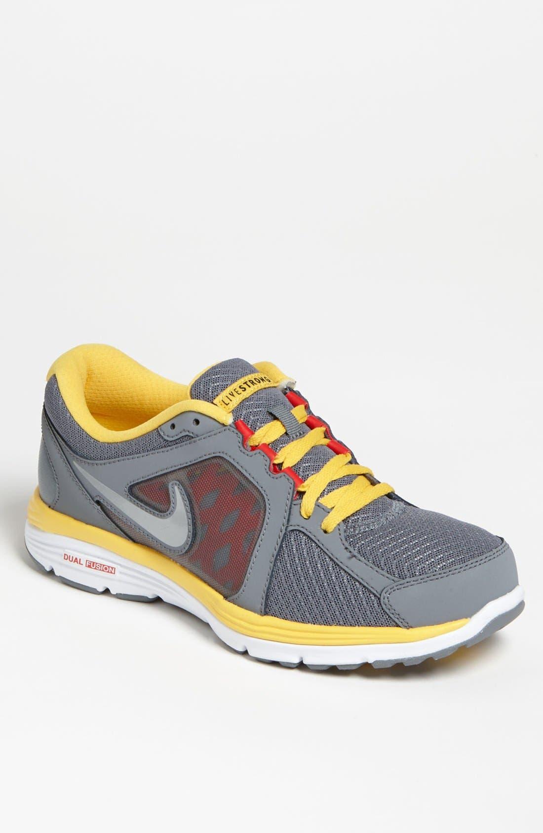 Alternate Image 1 Selected - Nike 'Dual Fusion Run Livestrong' Running Shoe (Men)
