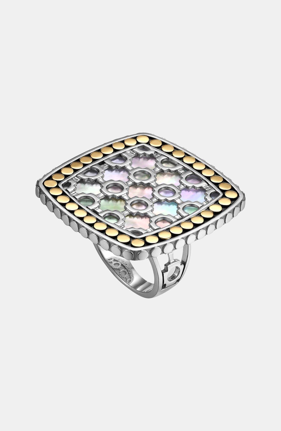 Alternate Image 1 Selected - John Hardy 'Dot' Square Ring