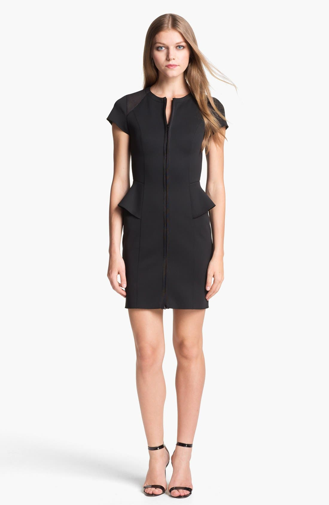 Alternate Image 1 Selected - Theory 'Tenna' Techno Sheath Dress