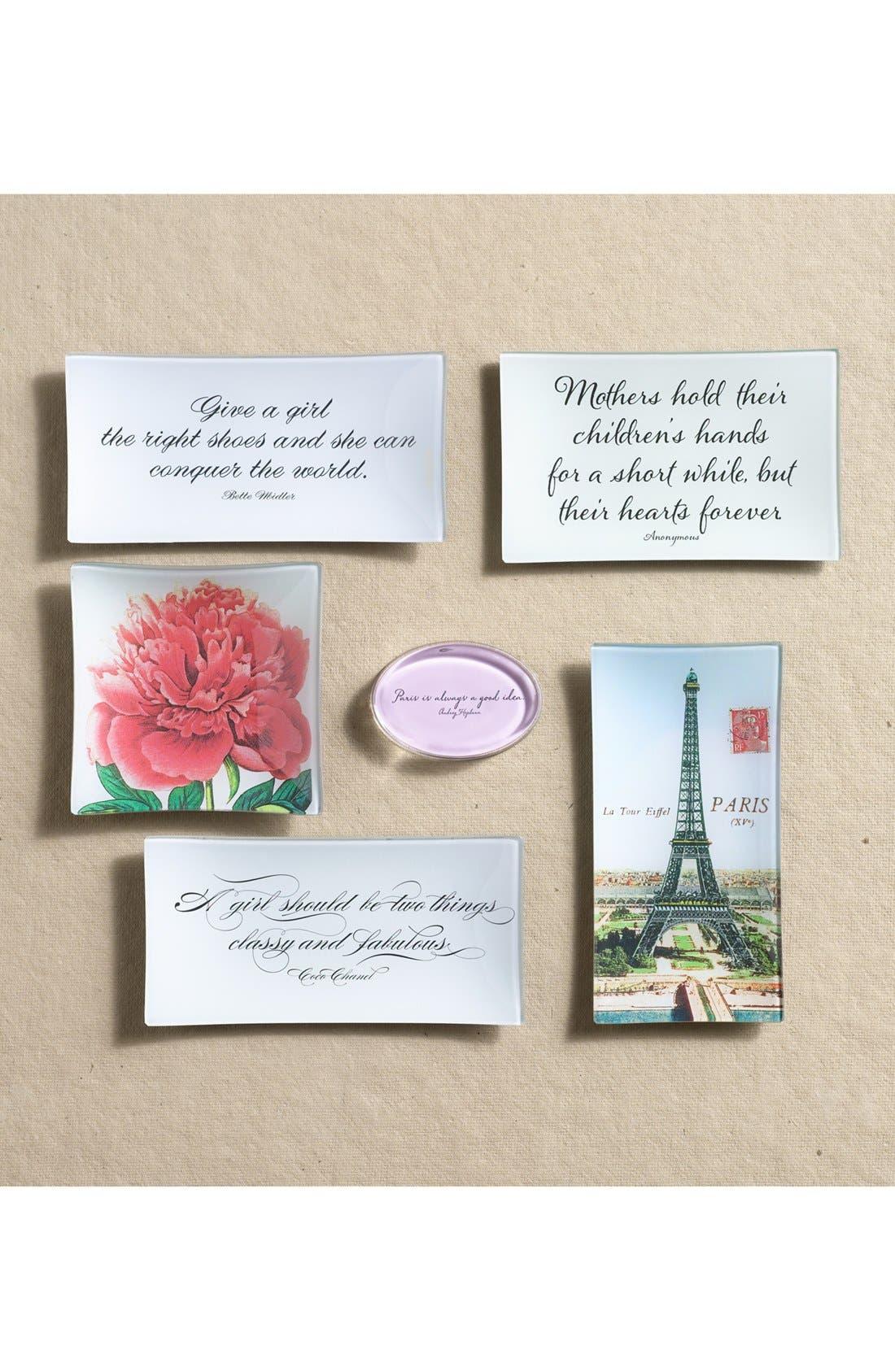 Alternate Image 2  - Ben's Garden 'Paris is Always' French Crystal Paperweight