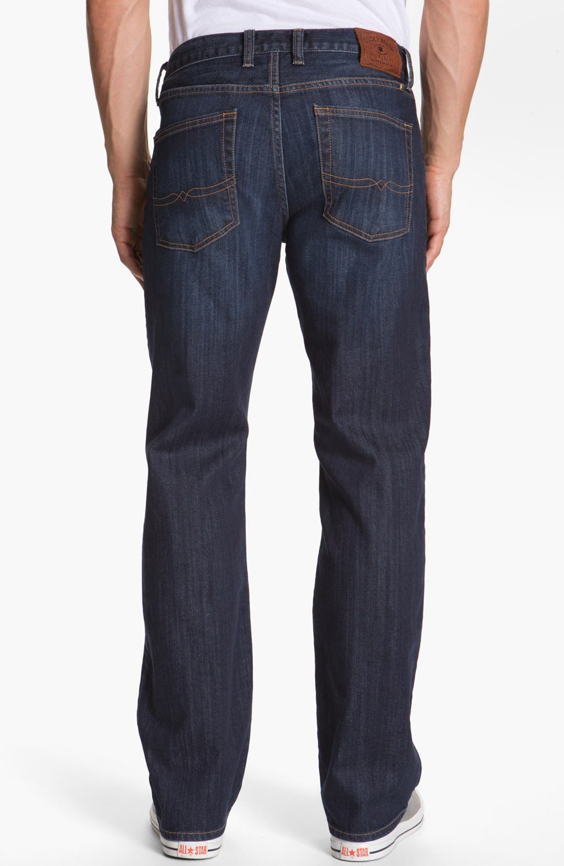 Alternate Image 2  - Lucky Brand '361 Vintage' Straight Leg Jeans (Chanson)