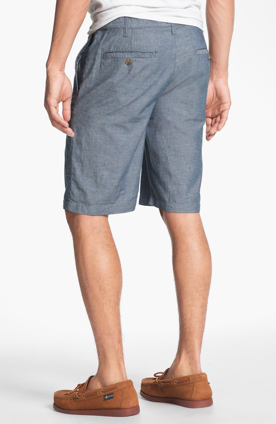 'Eastport' Nep Shorts,                             Alternate thumbnail 2, color,                             Blue Multi