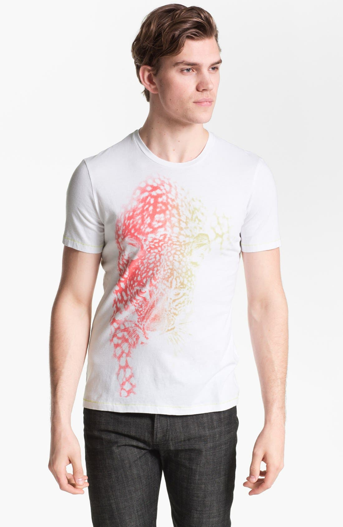 Main Image - Just Cavalli Cheetah Graphic T-Shirt