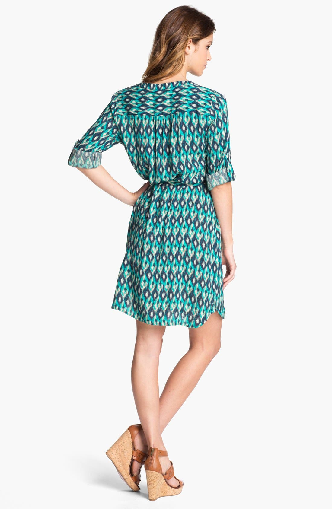 Alternate Image 2  - Lucky Brand 'Vailea' Shirtdress