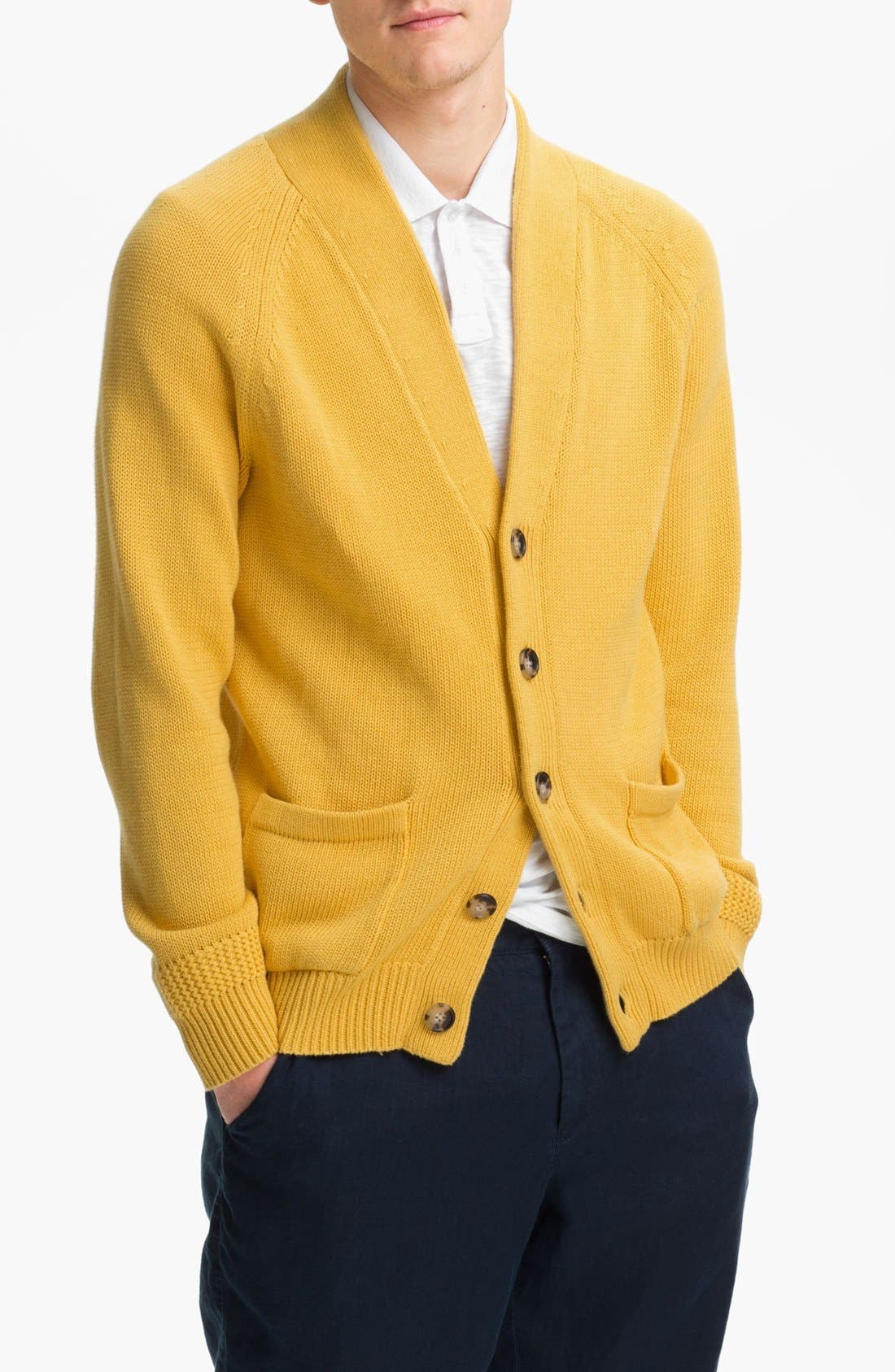 Alternate Image 1 Selected - Vince Button Cardigan