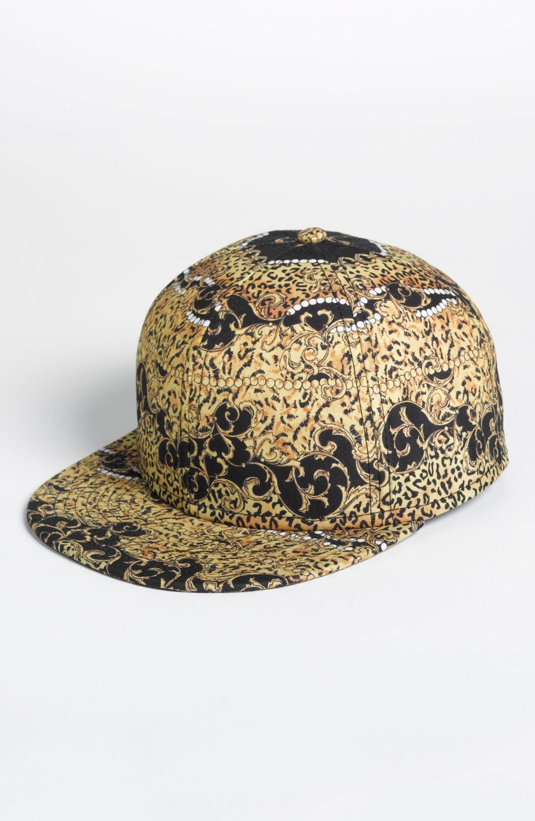 Alternate Image 1 Selected - Topman Baroque Print Baseball Cap