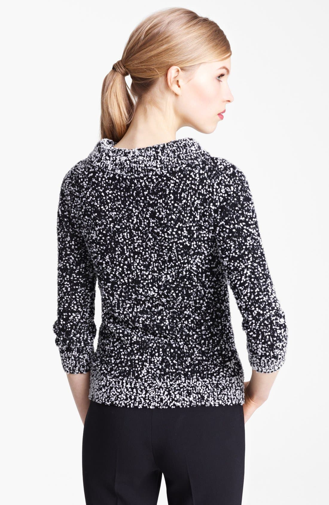 Alternate Image 2  - Michael Kors Tweed Bouclé Pullover