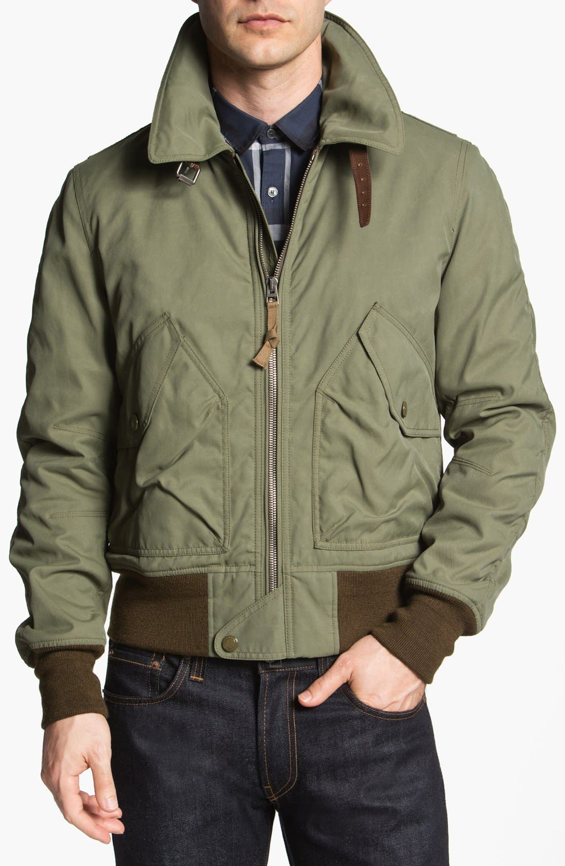 Alternate Image 1 Selected - Burberry Brit 'Lucian' Field Jacket