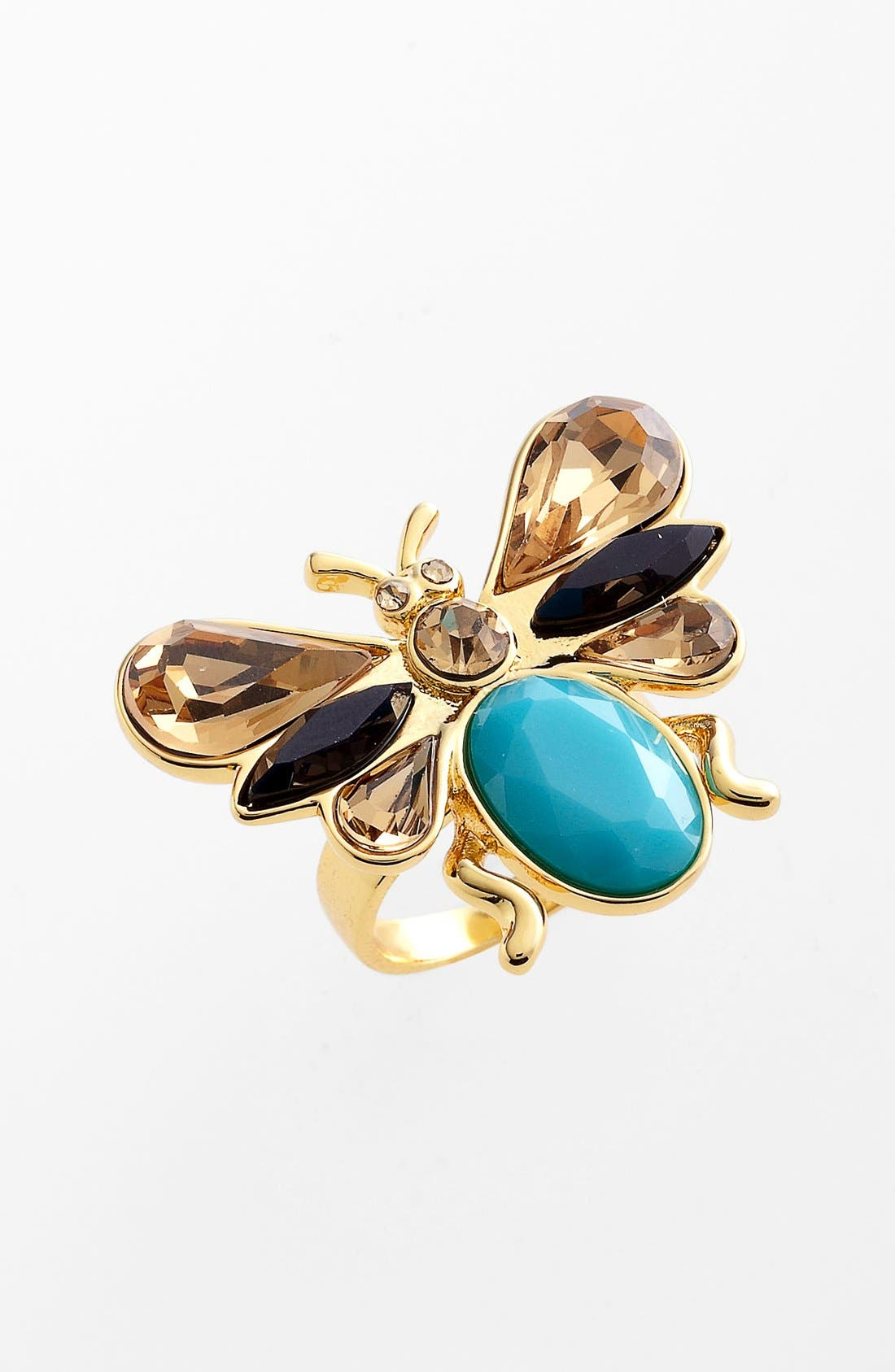 Main Image - kate spade new york 'unwanted visitors' cocktail ring