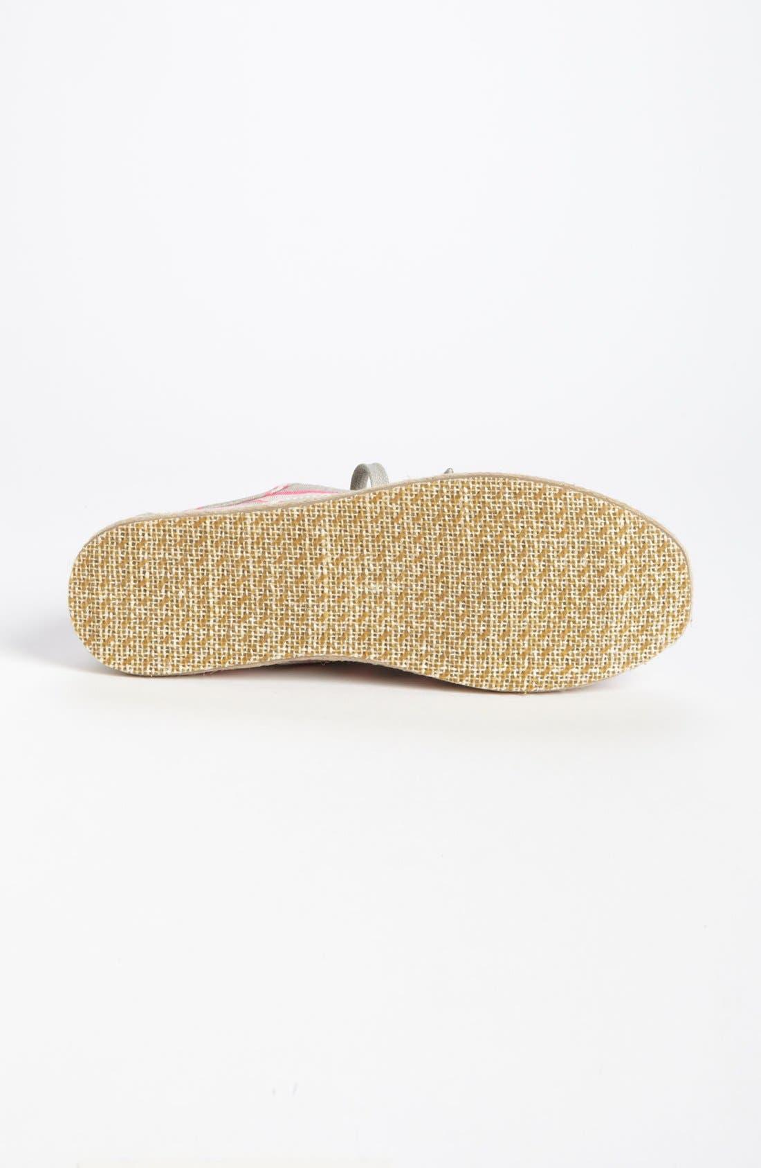 Alternate Image 4  - TOMS 'Cordones - Washed Stripe' Slip-On (Women)