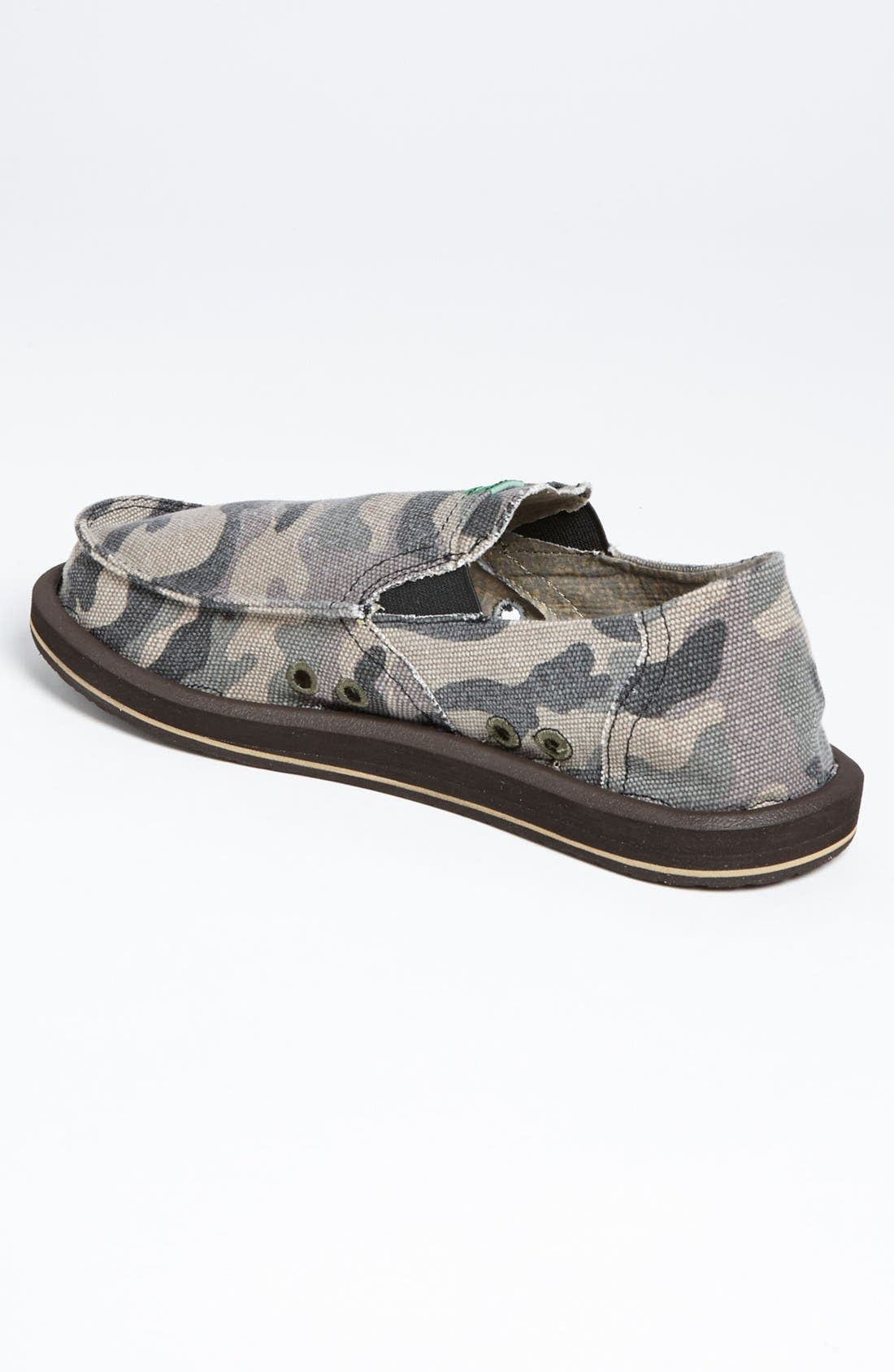 Alternate Image 2  - Sanuk 'Pick Pocket' Slip-On (Men)