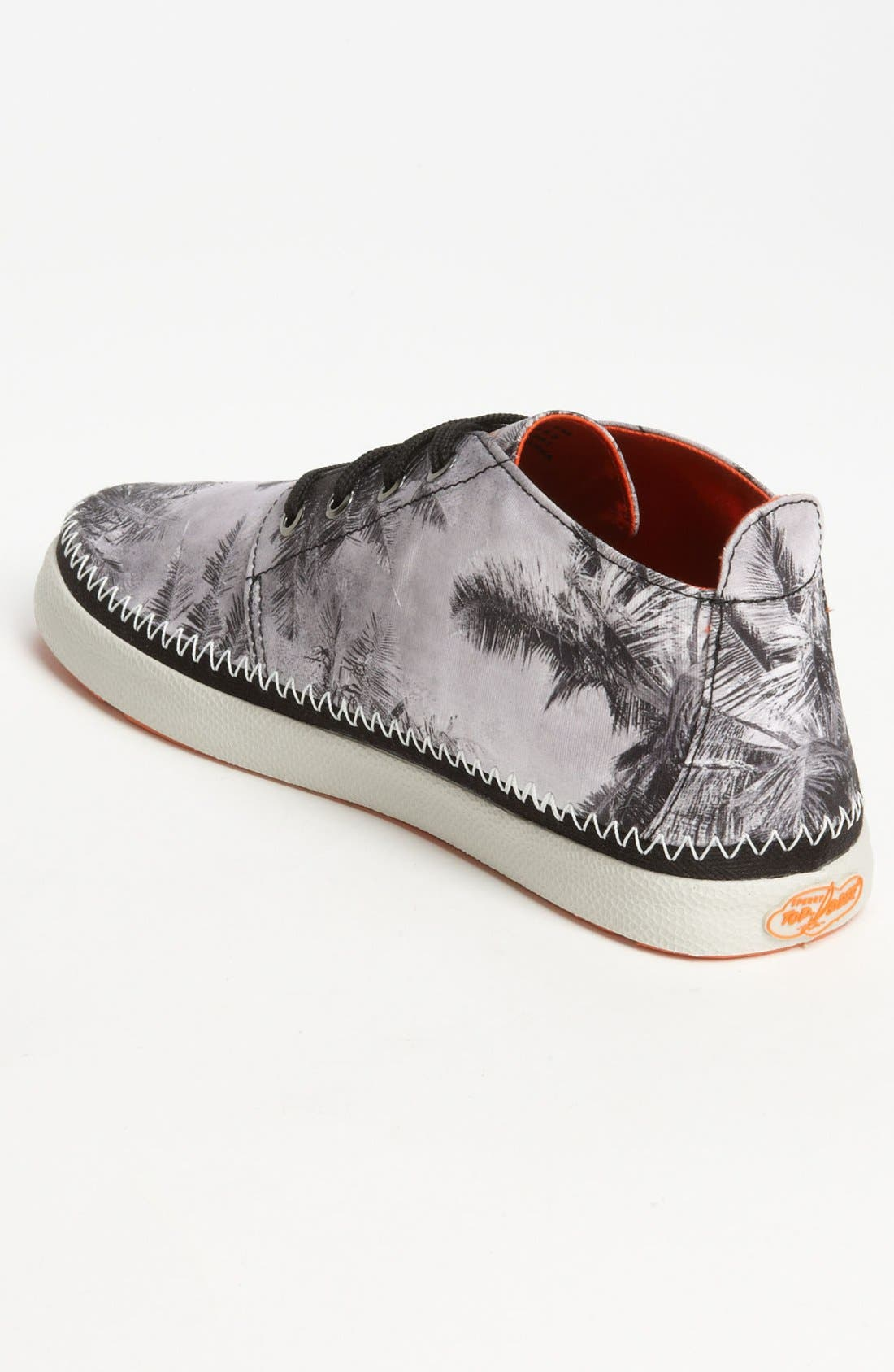Top-Sider<sup>®</sup> 'Drifter' Chukka Boot,                             Alternate thumbnail 2, color,                             Black/ White Print