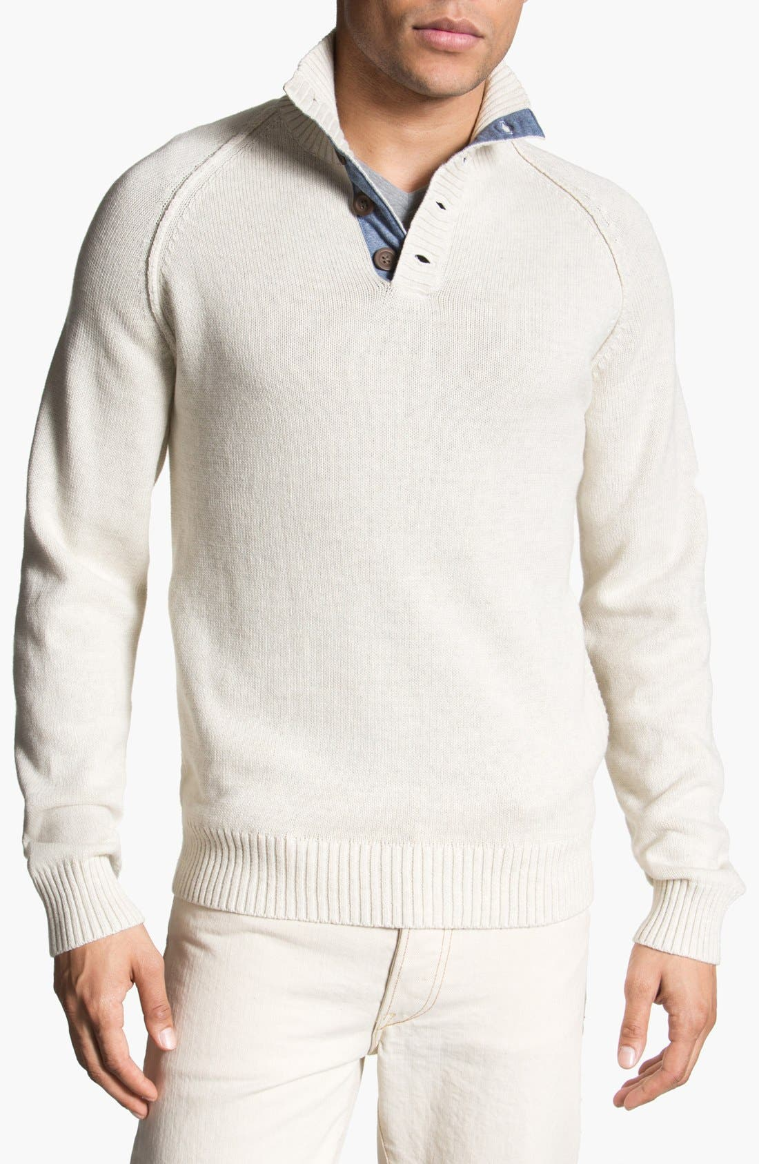 Alternate Image 1 Selected - 1901 'Pacific' Mock Neck Sweater