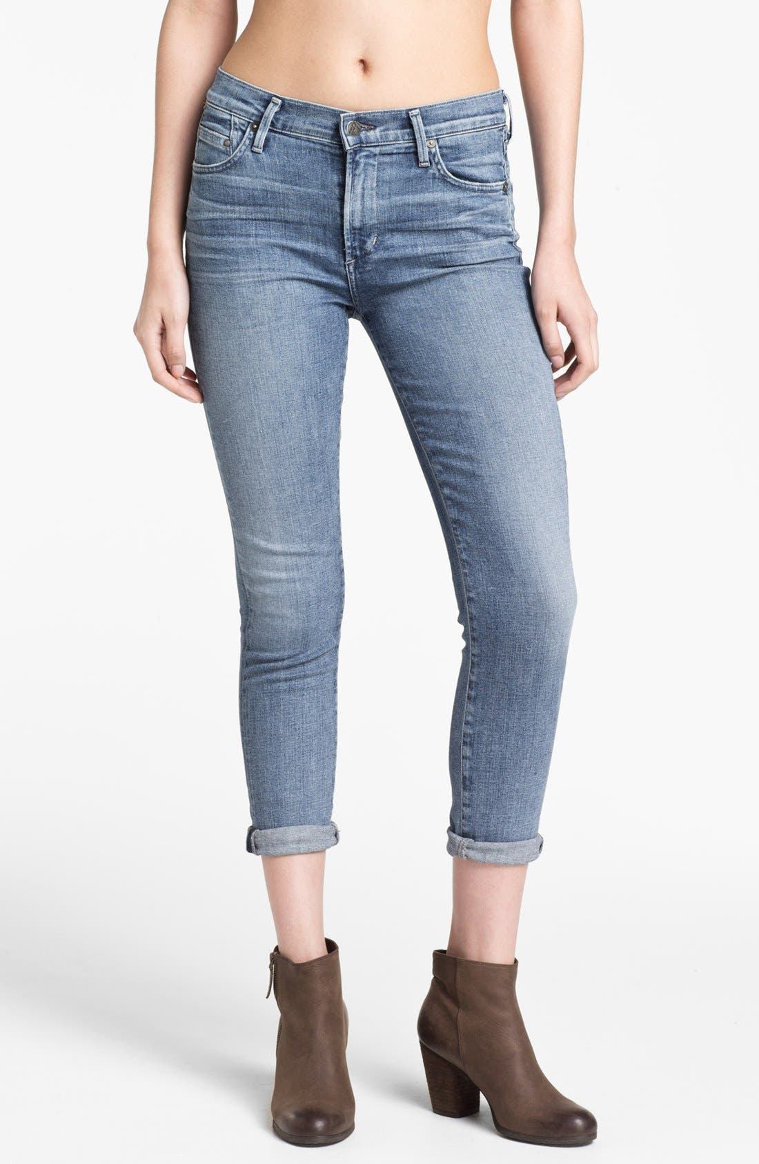 Main Image - Citizens of Humanity 'Rocket' High Rise Skinny Jeans (Fizzle)