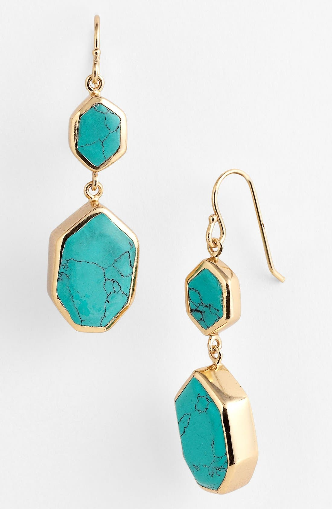 Alternate Image 1 Selected - Melinda Maria 'Lennox Slice' Drop Earrings