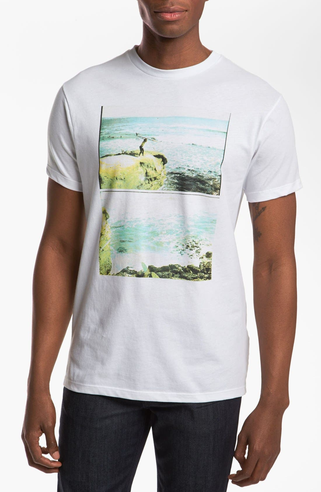 Alternate Image 1 Selected - Vans 'Logs Away' T-Shirt