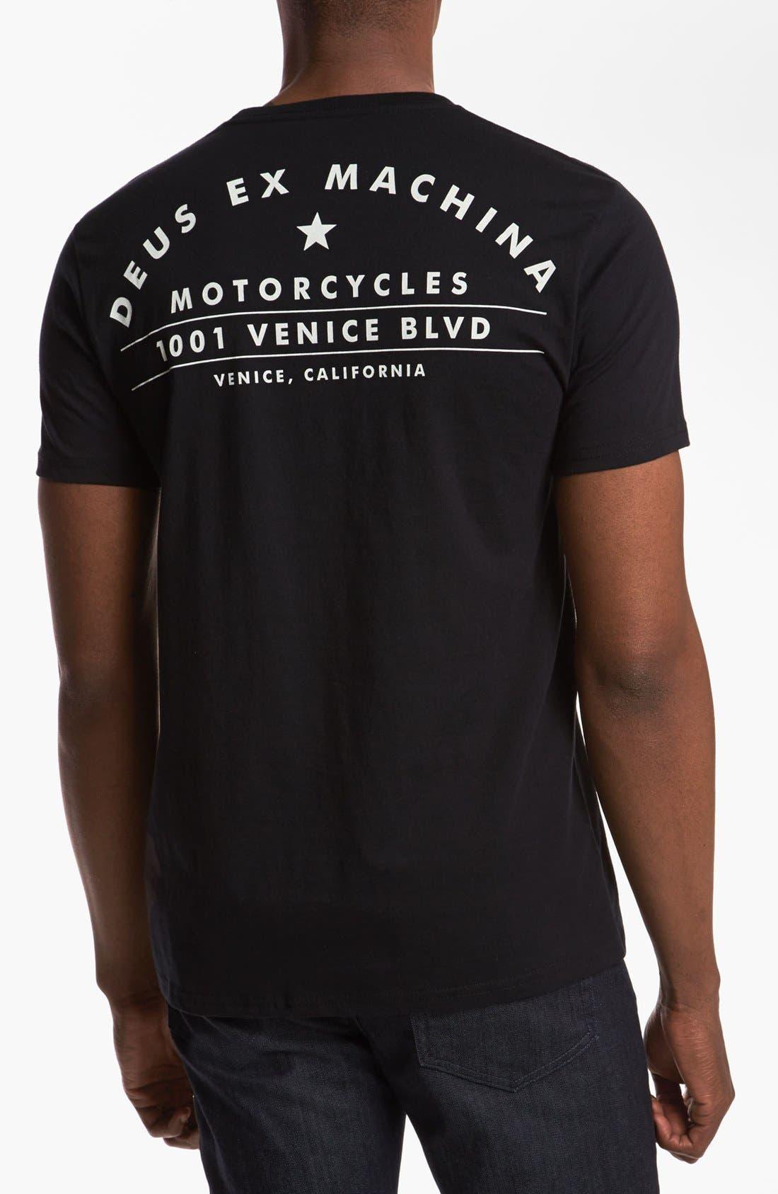 Alternate Image 2  - Deus Ex Machina 'Venice Address' T-Shirt
