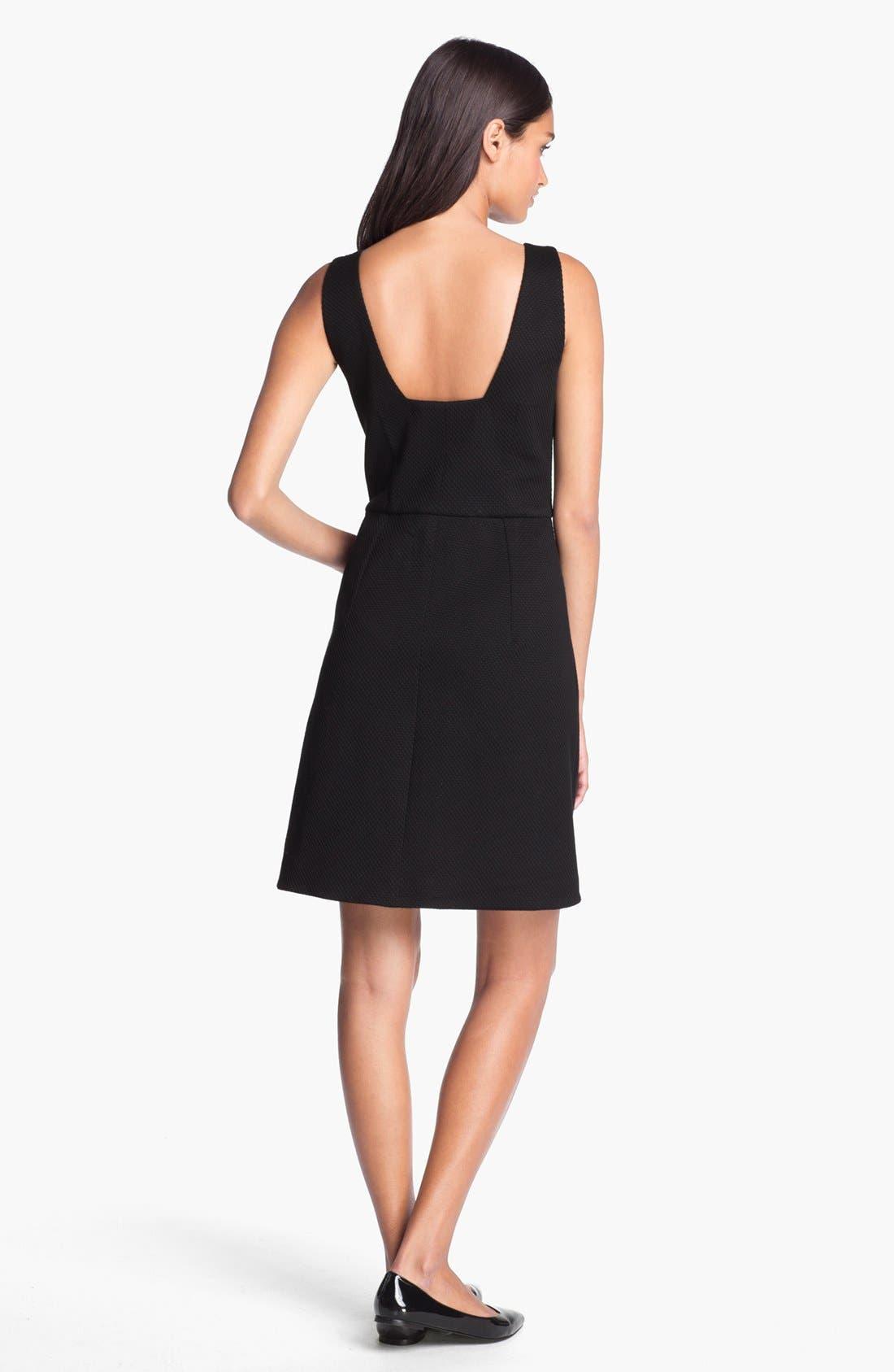 Alternate Image 2  - Rachel Roy Stretch Cotton A-Line Dress