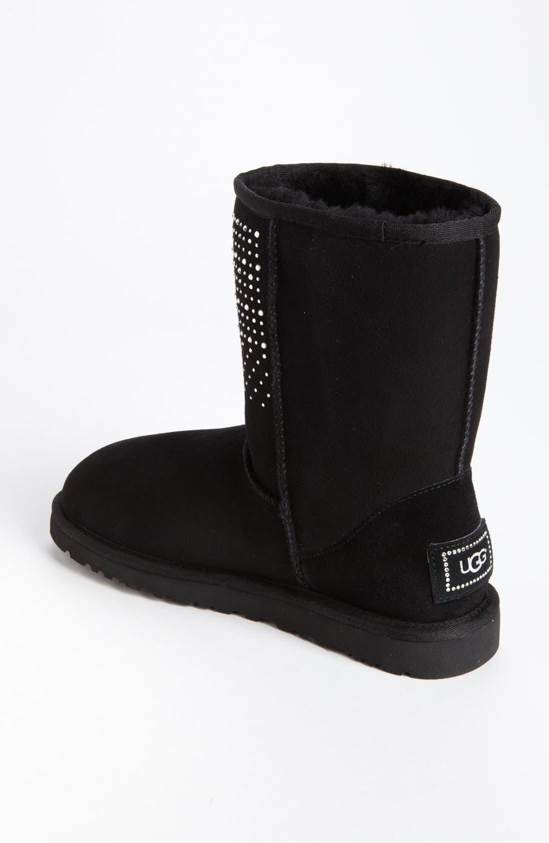 Alternate Image 2  - UGG® Australia 'Classic Short Bling' Boot (Women)