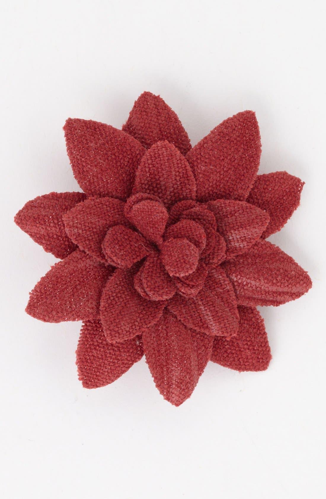Alternate Image 1 Selected - hook + ALBERT Flower Lapel Pin, Large
