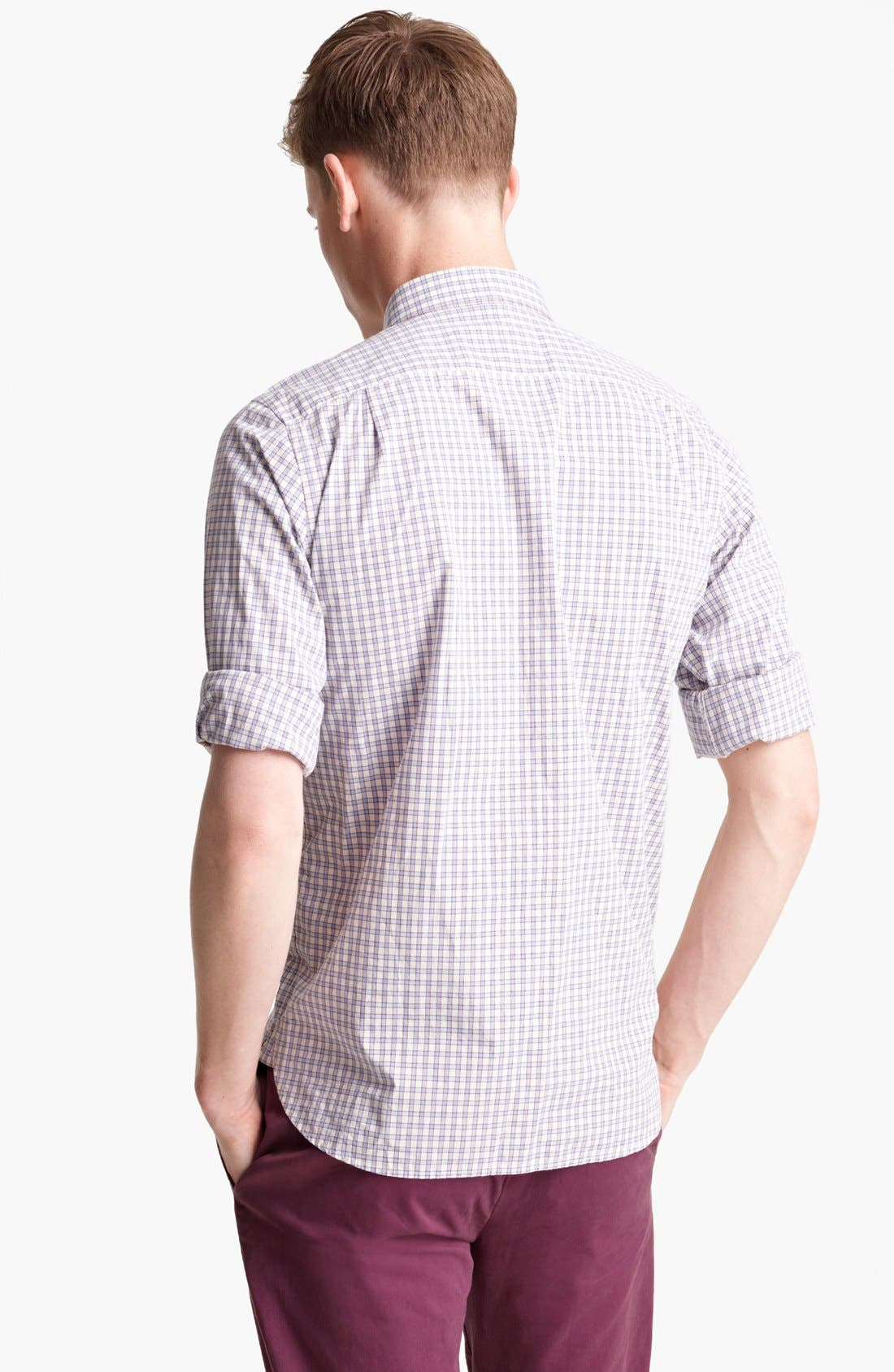 Alternate Image 2  - Jack Spade 'Yates' Check Cotton Shirt
