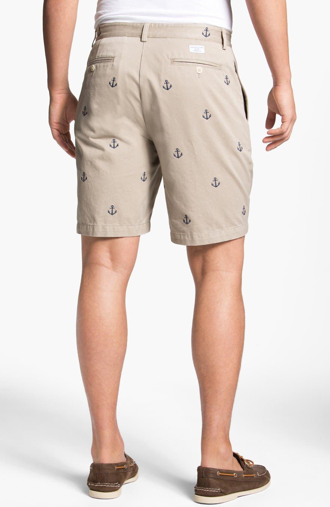 Alternate Image 2  - Vineyard Vines 'Embroidered Anchor' Shorts