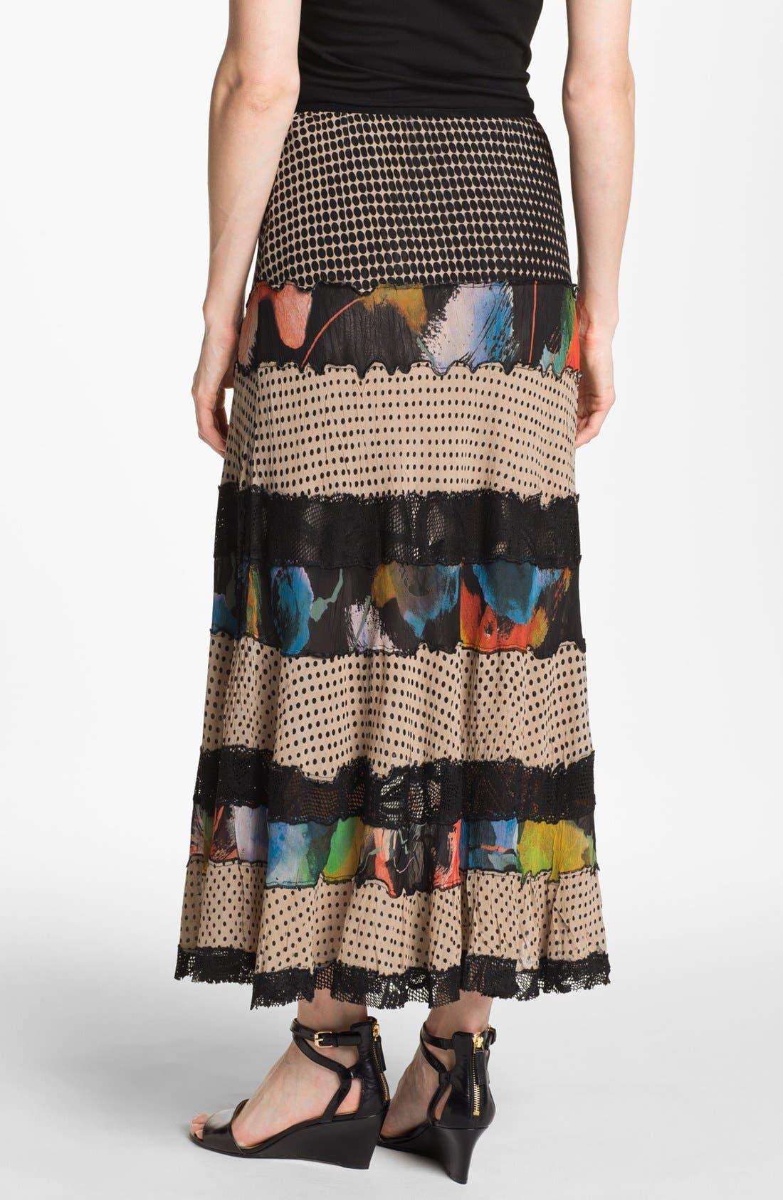 Alternate Image 2  - Komarov Mix Pattern Maxi Skirt