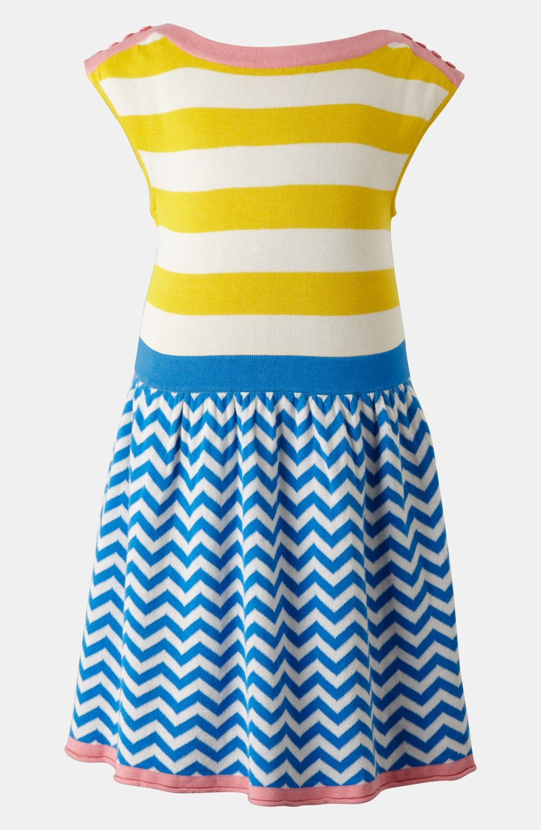 Main Image - Mini Boden 'Colorful Summer' Knit Dress (Toddler)