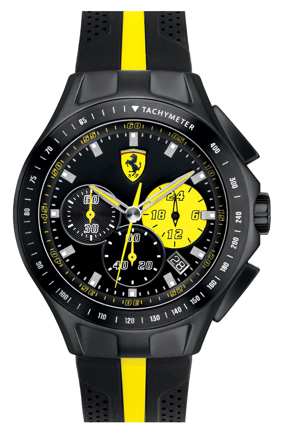 Alternate Image 1 Selected - Scuderia Ferrari 'Race Day' Chronograph Watch, 44mm