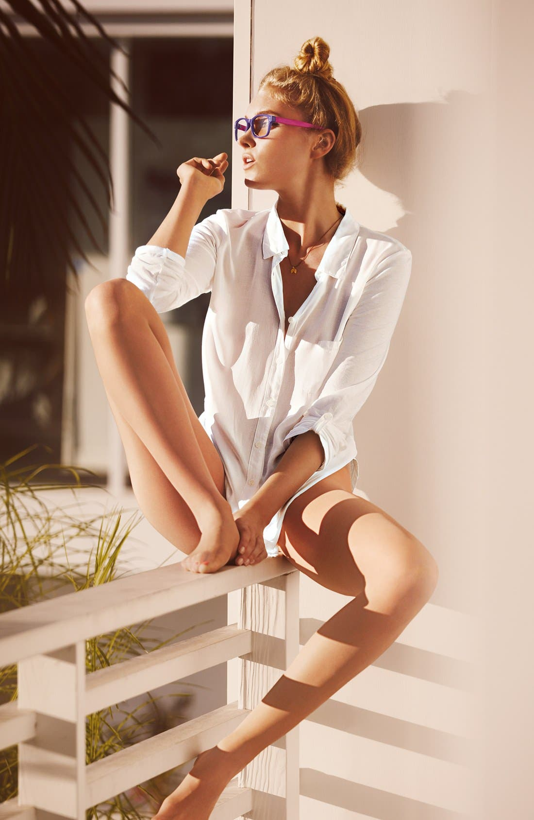 Alternate Image 3  - Donna Karan 'Evolution' Ultra Sheer Pantyhose