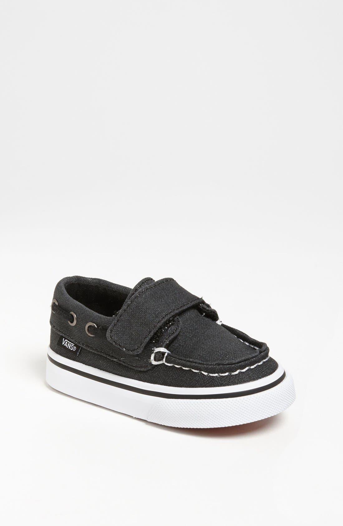 Alternate Image 1 Selected - Vans 'Zapato Del Barco' Sneaker (Baby, Walker & Toddler)