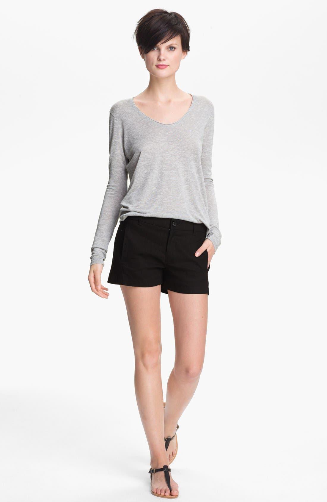 Alternate Image 1 Selected - Vince Linen Blend Shorts