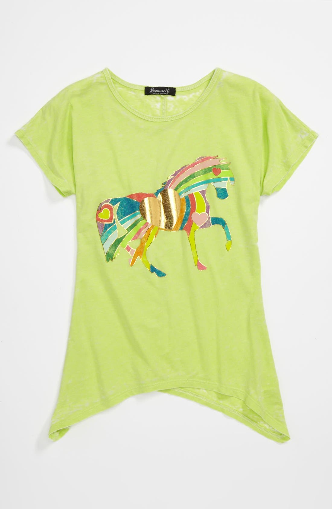 Alternate Image 1 Selected - Signorelli Graphic Tee (Big Girls)