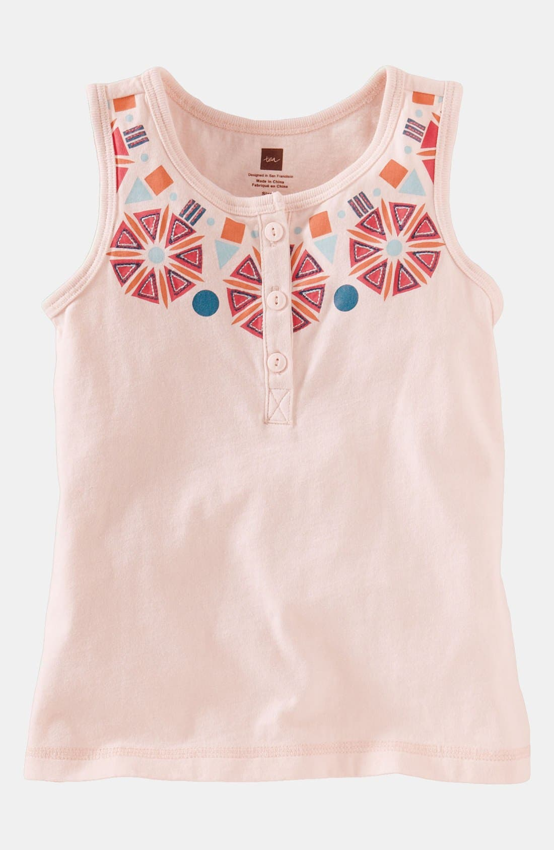 Alternate Image 1 Selected - Tea Collection Henley Top (Toddler)
