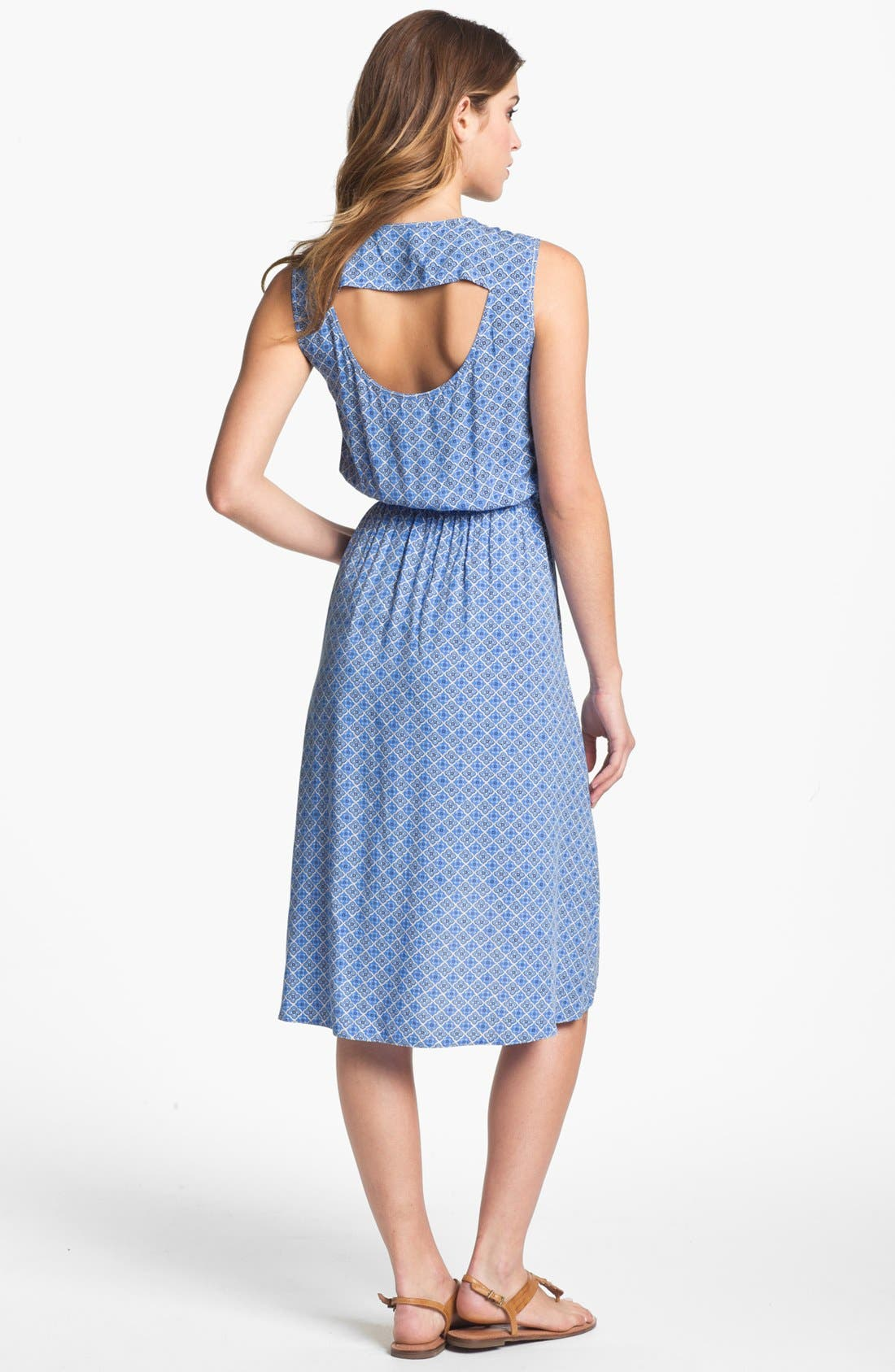 Alternate Image 2  - Two by Vince Camuto Cutout Faux Wrap Dress