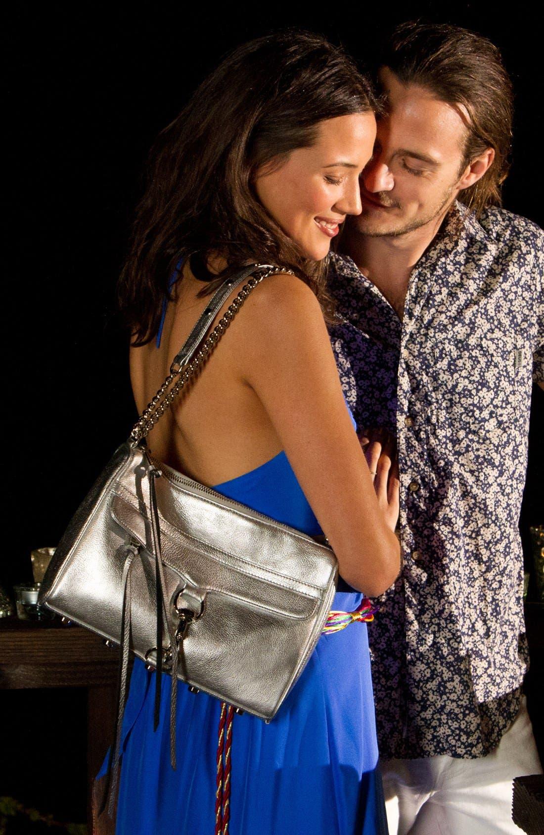 Alternate Image 4  - ALICE & TRIXIE 'Tiffany' Double Tie Silk Halter Maxi Dress