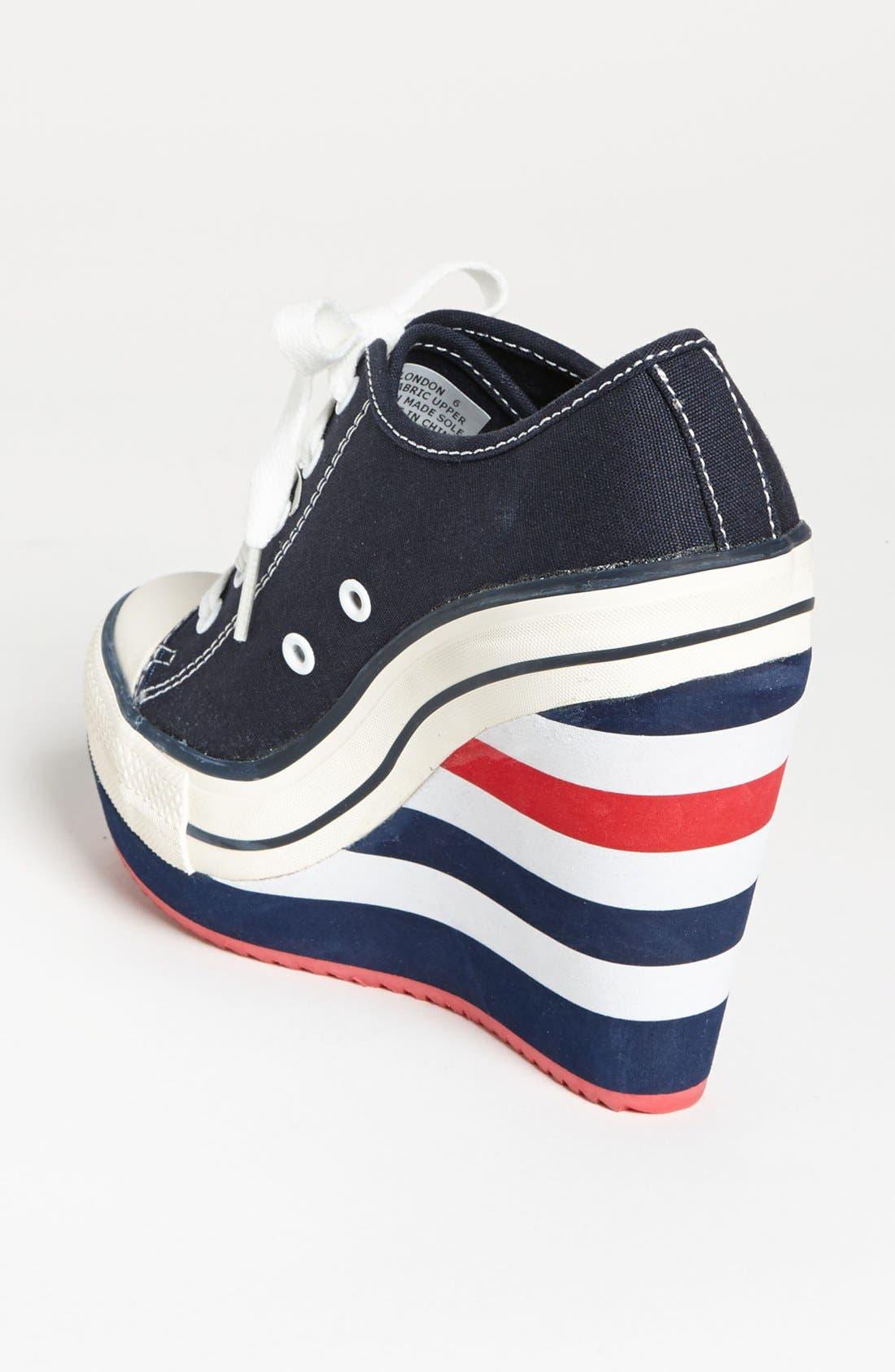 Alternate Image 2  - GOLDLUXE by Zigi 'London' Wedge Sneaker