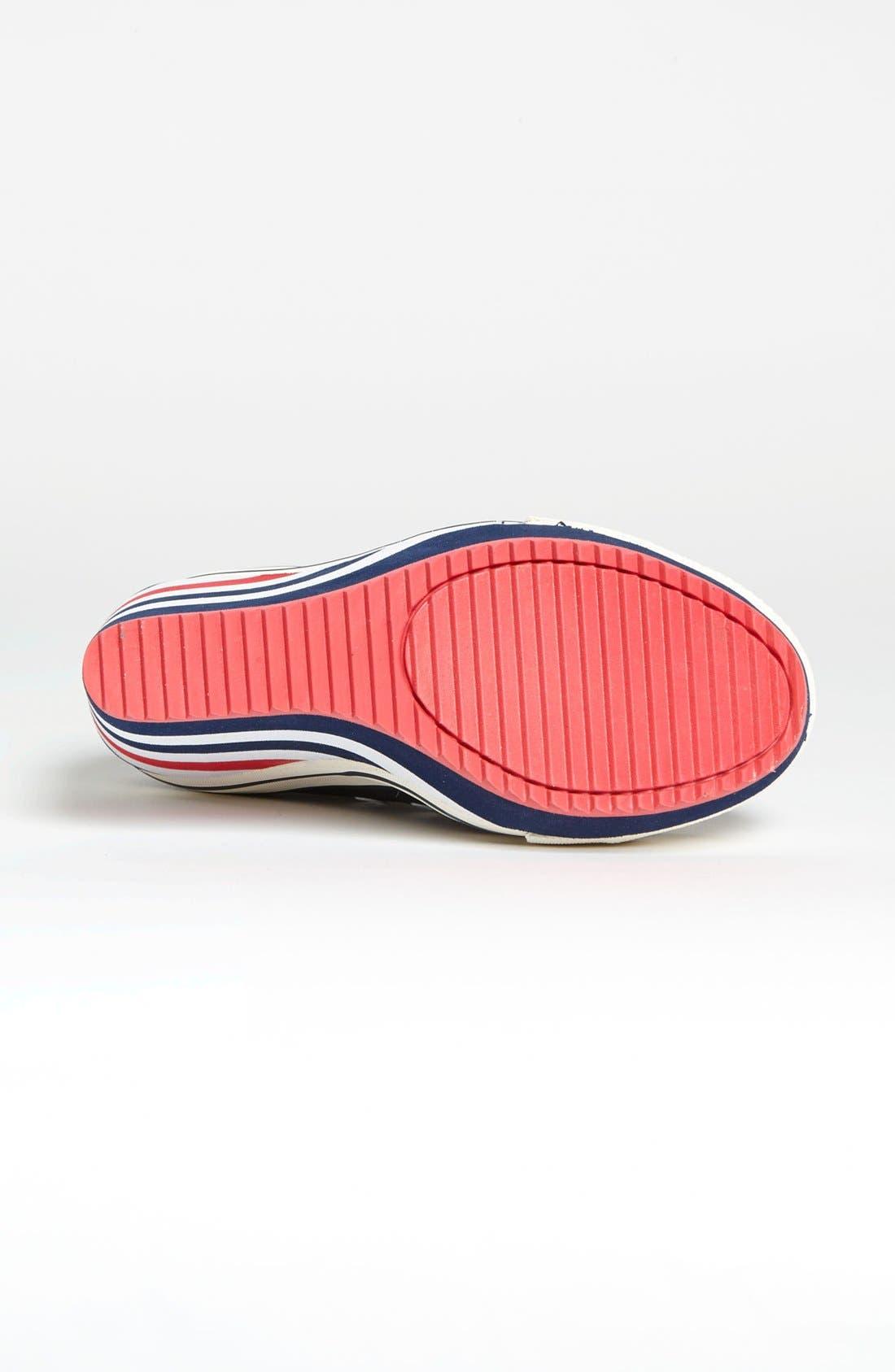 Alternate Image 4  - GOLDLUXE by Zigi 'London' Wedge Sneaker