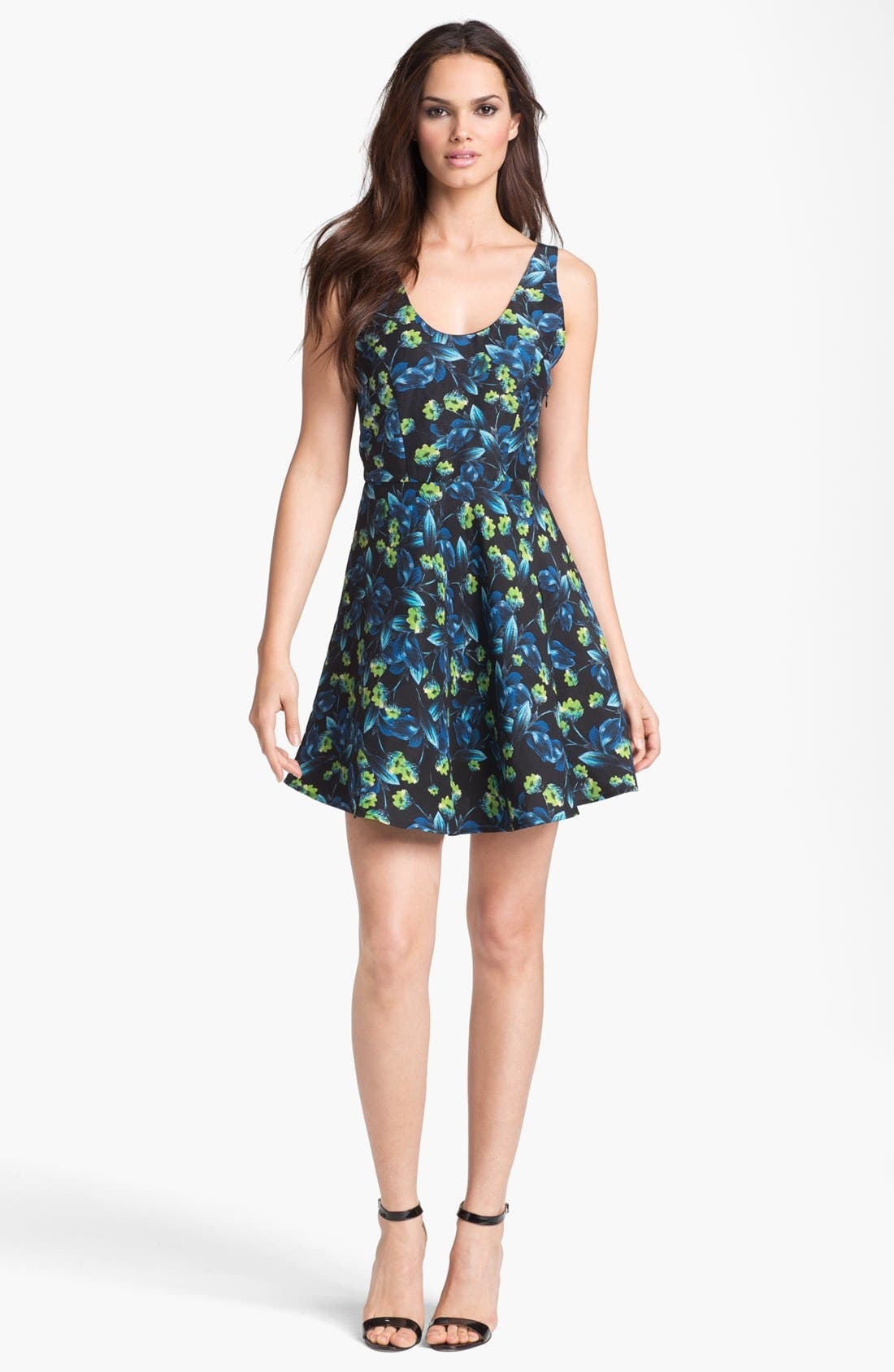 Alternate Image 1 Selected - Joie 'Mare' Linen Blend Fit & Flare Dress