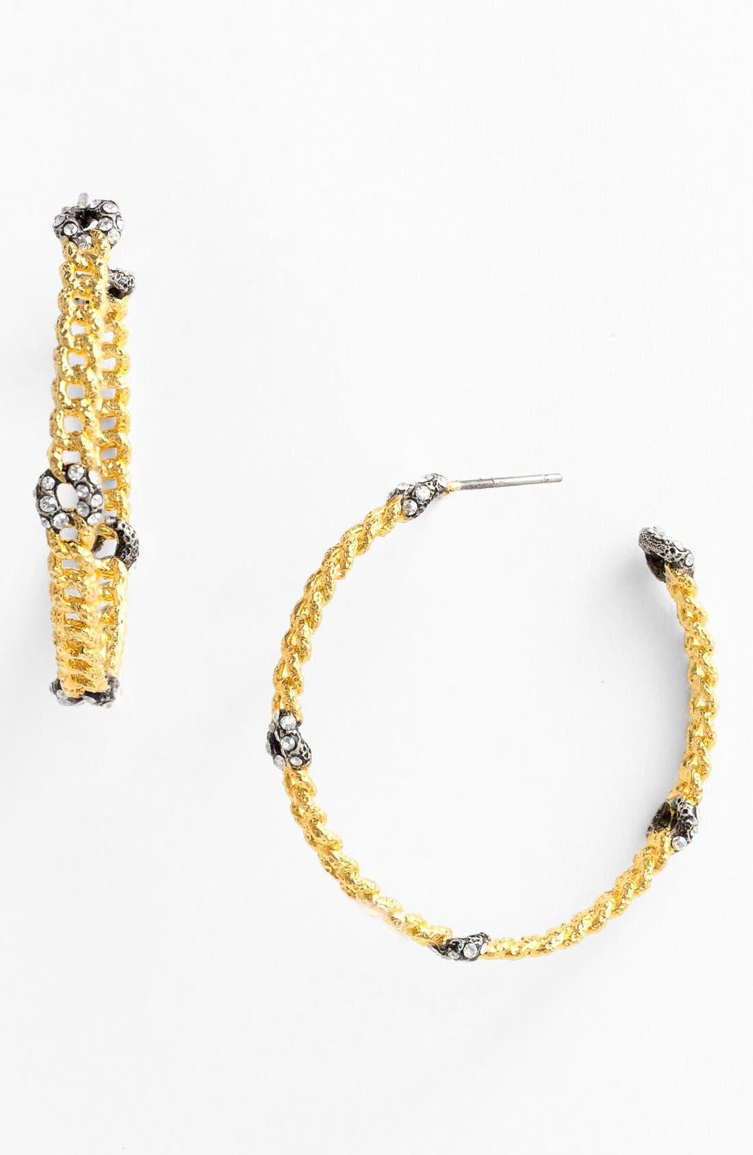 Alternate Image 1 Selected - Alexis Bittar 'Elements - Cordova' Link Hoop Earrings