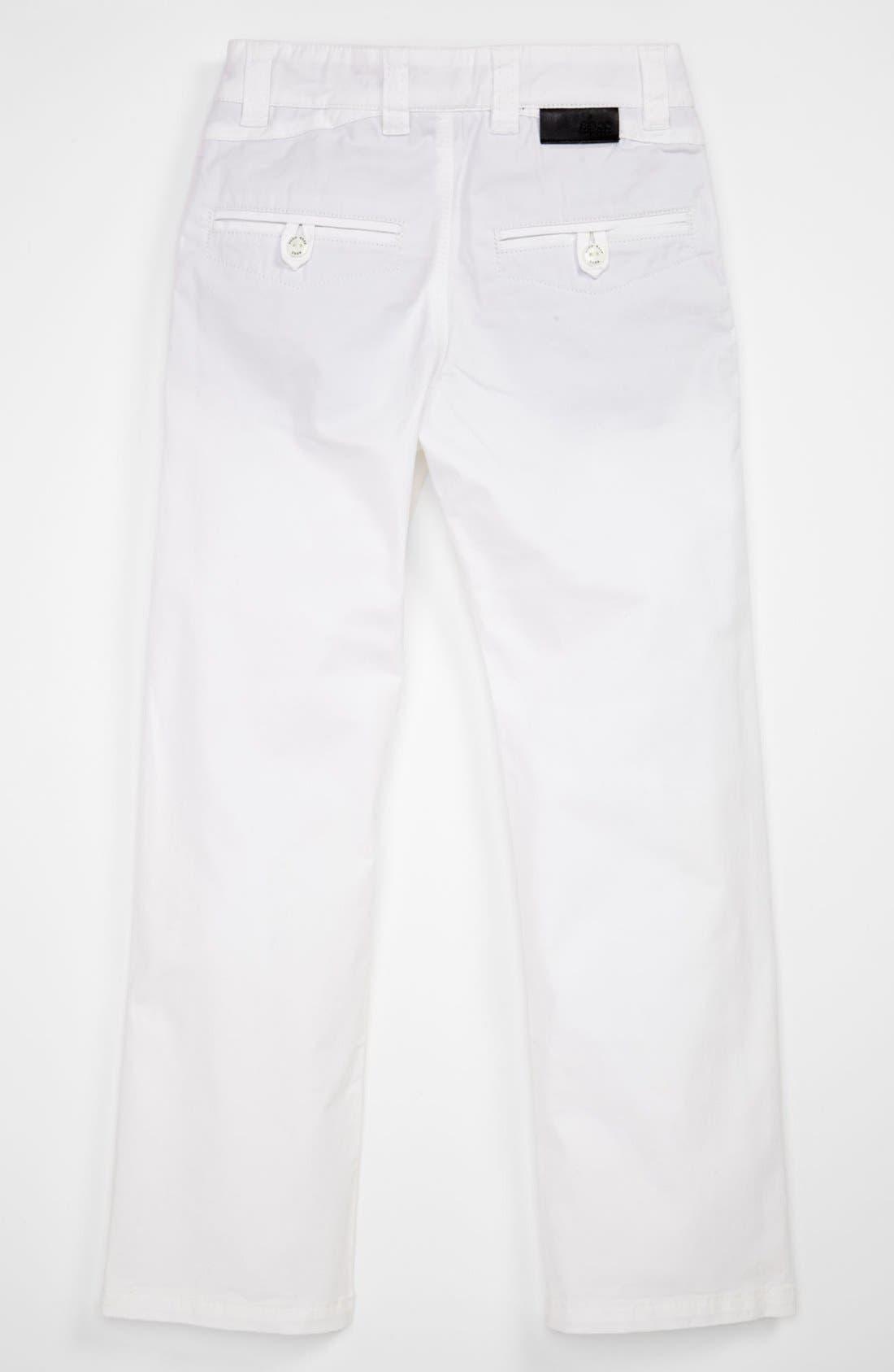 Alternate Image 2  - BOSS Kidswear Twill Pants (Little Boys & Big Boys)