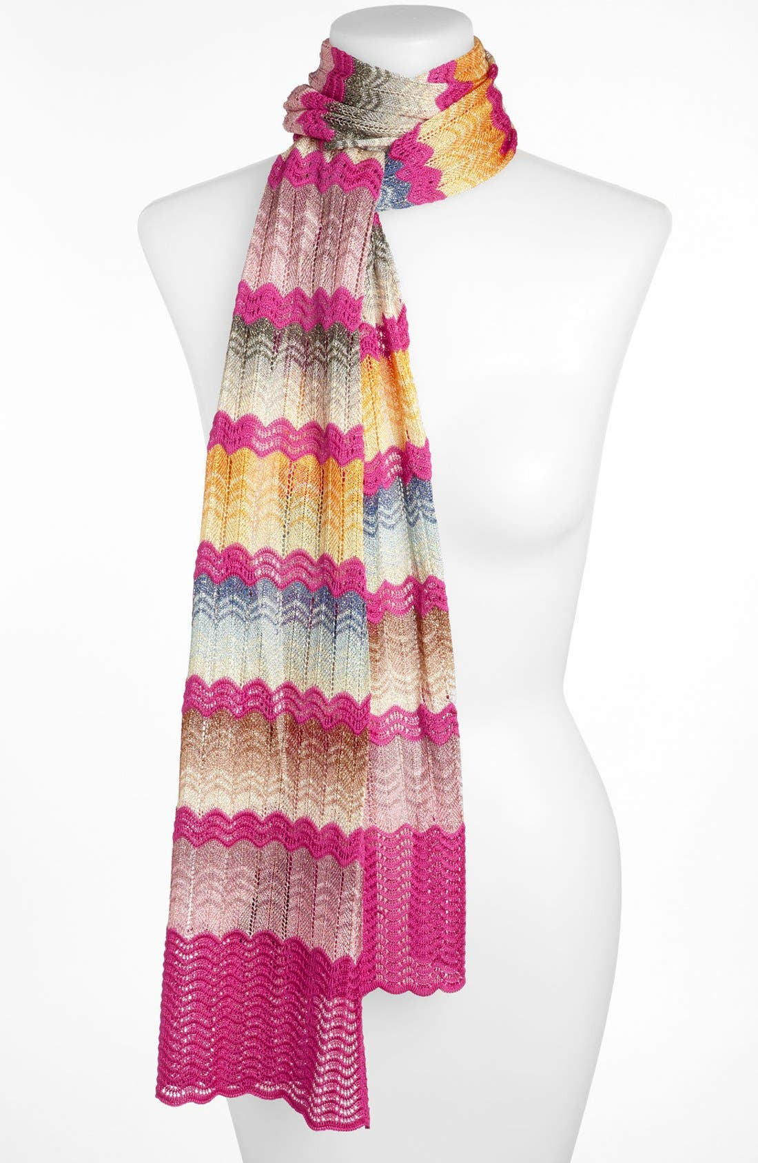 Alternate Image 1 Selected - Missoni Zigzag Knit Scarf