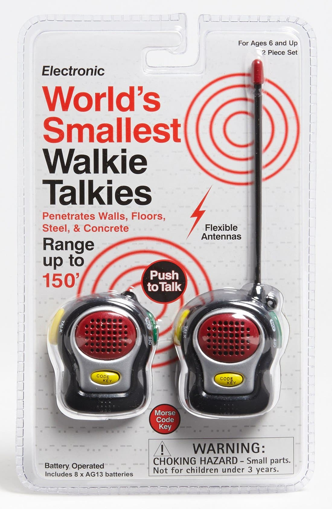Alternate Image 3  - Westminster Toys 'World's Smallest' Walkie Talkies
