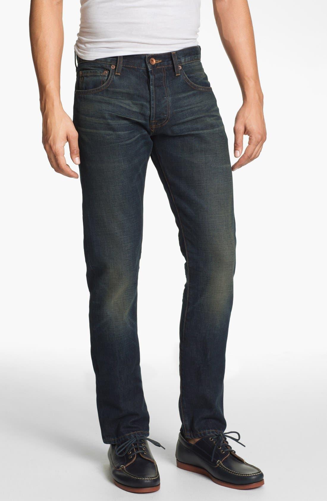 Alternate Image 2  - Baldwin 'Henley' Slim Tapered Leg Jeans (David)