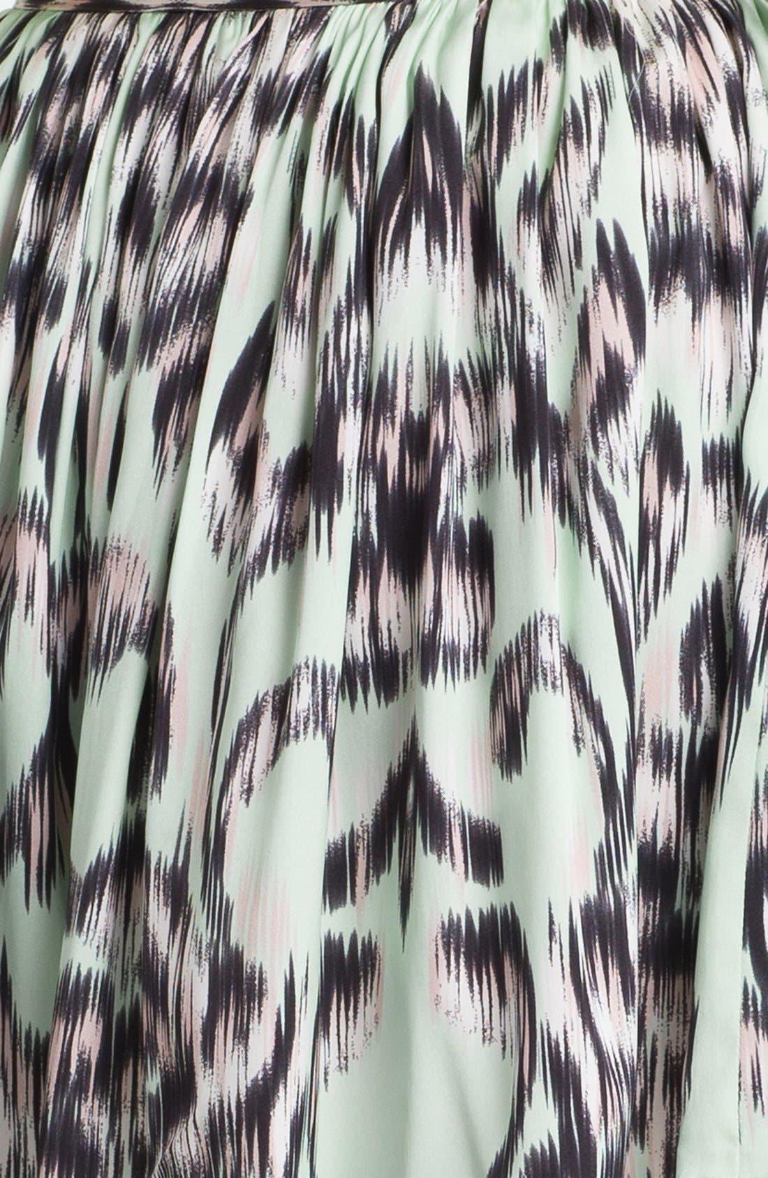 Alternate Image 3  - Milly Gathered Stretch Silk Shorts