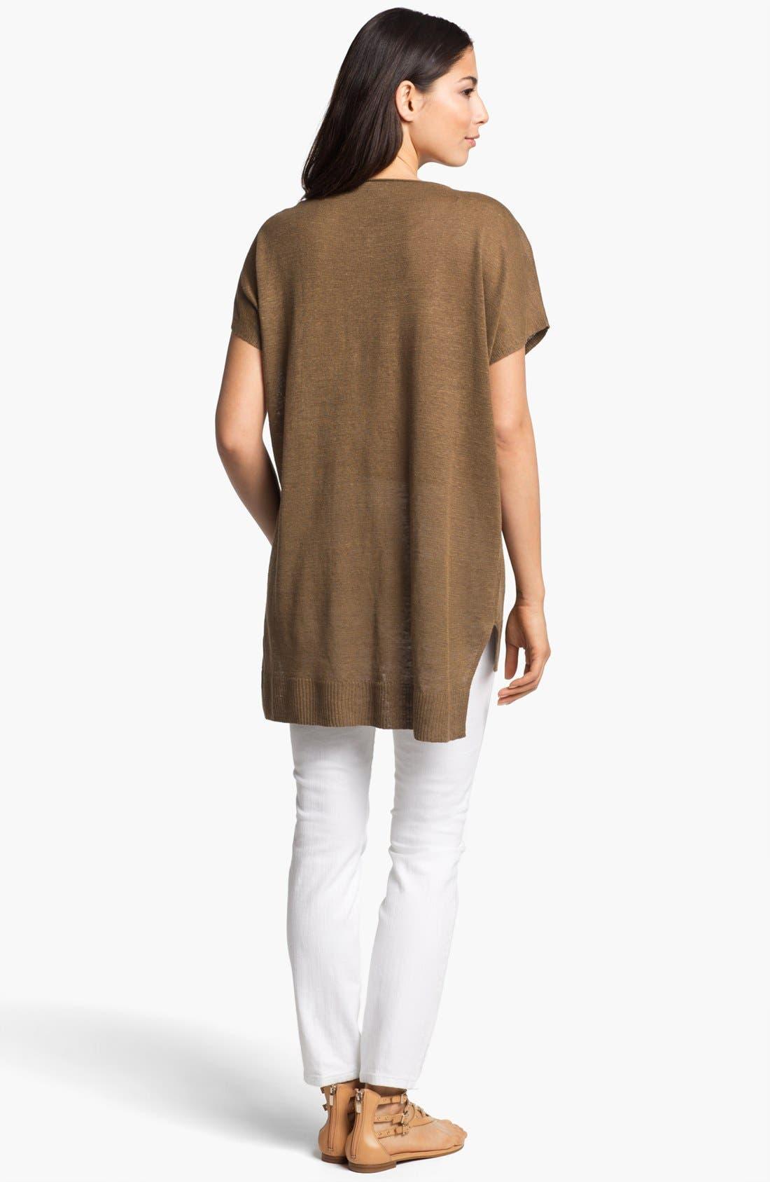 Alternate Image 3  - Eileen Fisher Scoop Neck Dolman Sleeve Tunic