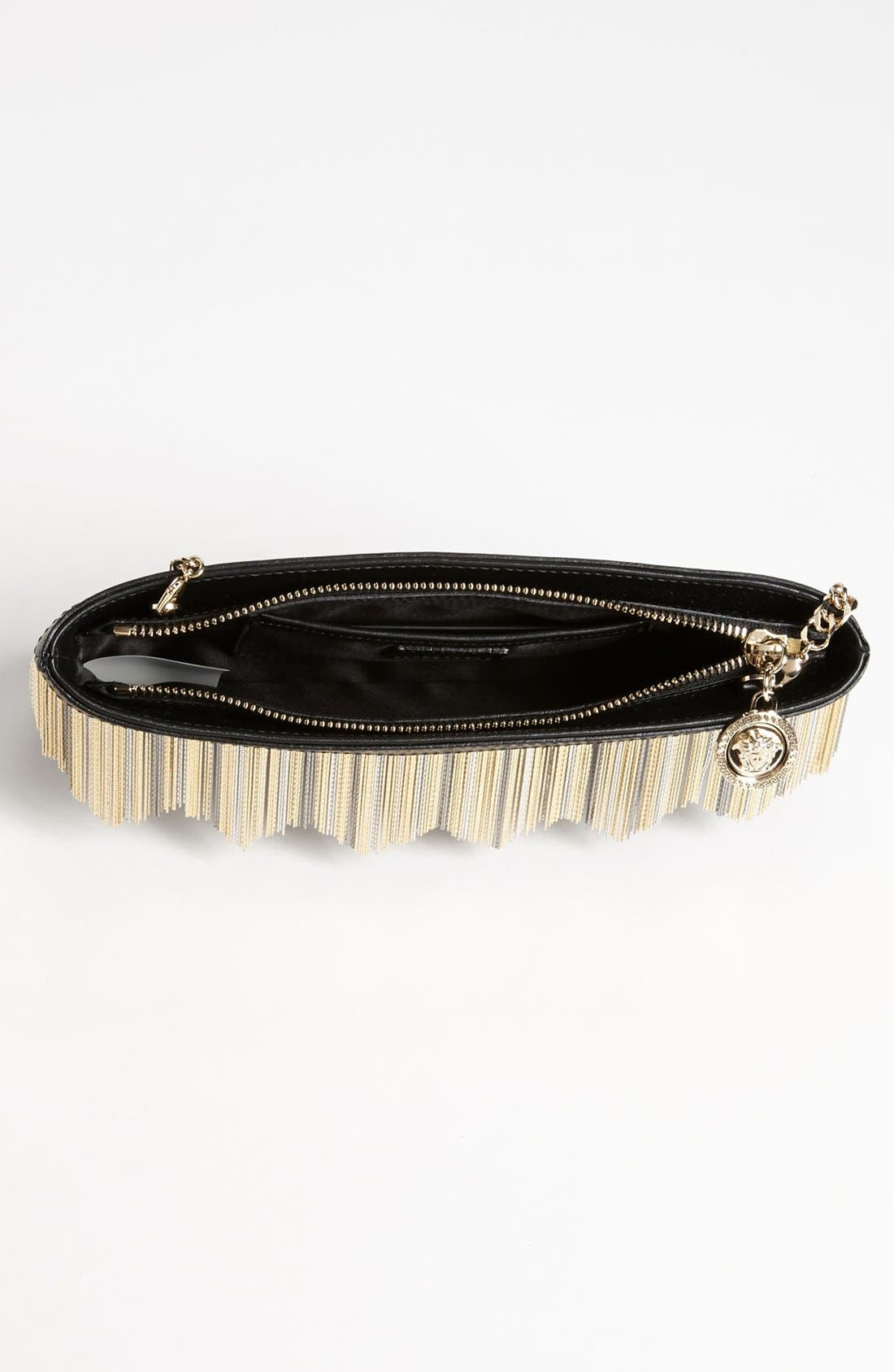 Alternate Image 3  - Versace Chain Fringe Pouchette